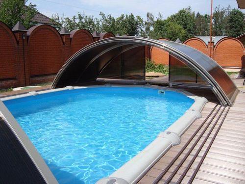 Раздвижной павильон для бассейна