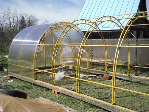 Крыша из поликарбоната своими руками подробная инструкция