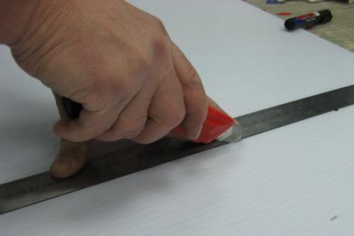 Резка ножом