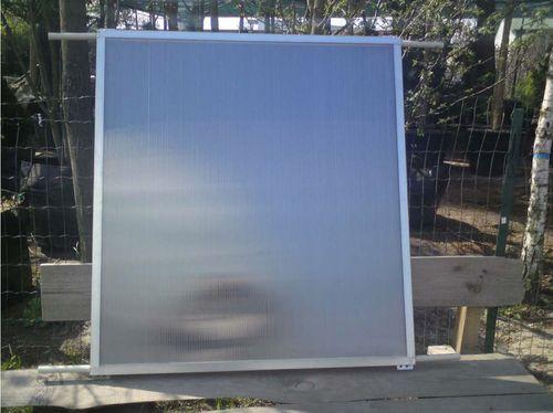 Солнечные коллекторы своими руками из поликарбоната
