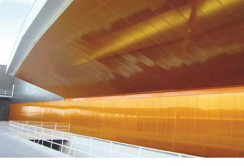 Применение оранжевого поликарбоната