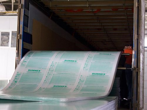 Характеристики сотового поликарбоната Sunnex