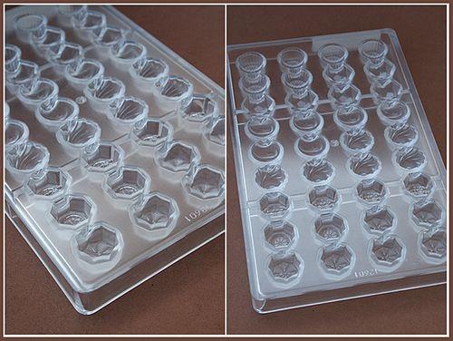 Поликарбонатные формы для конфет и шоколада
