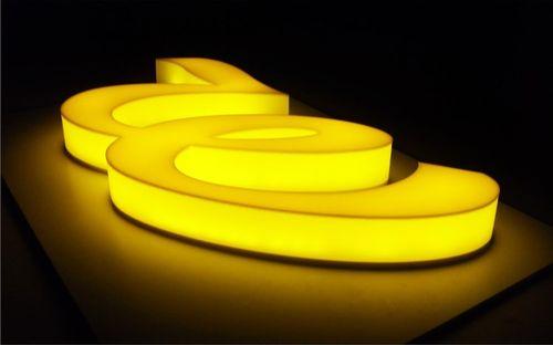 Желтое оргстекло
