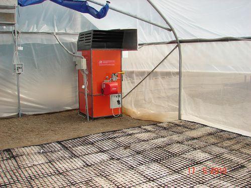 Все про газовые обогреватели для теплицы