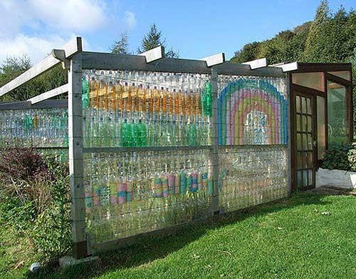 Создание теплицы из пластиковых бутылок
