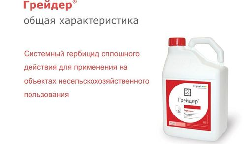 Состав и особенности применения гербицида Грейдер