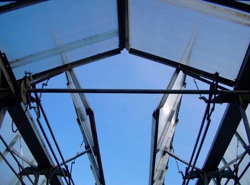 Автоматика крыши теплицы